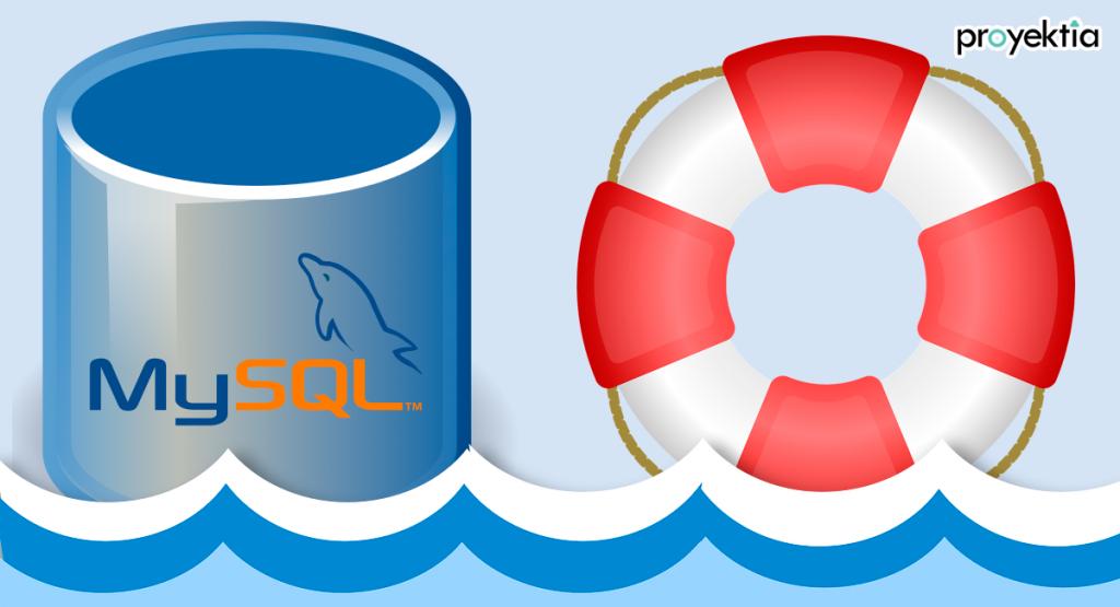 Recuperar Base de Datos MySQL